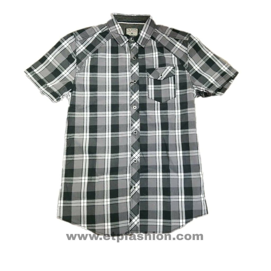 a5461401591 ... Men s Formal Short Sleeve Shirt Black white Color Xios Brand. Show all  · 36277443 1716996365044962 1105665684550975488 n